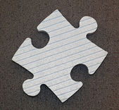 Puzzle piece — Stock Photo