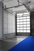Warehouse door — Stock Photo