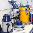 Stock Photo: Industrial vacuum cleaner