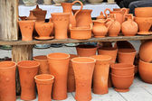 Terracotta pottery — Stock Photo