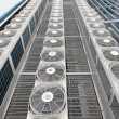 Central air conditioners — Stock Photo