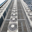Stock Photo: Central air conditioners