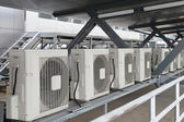 Air conditioners — Foto Stock