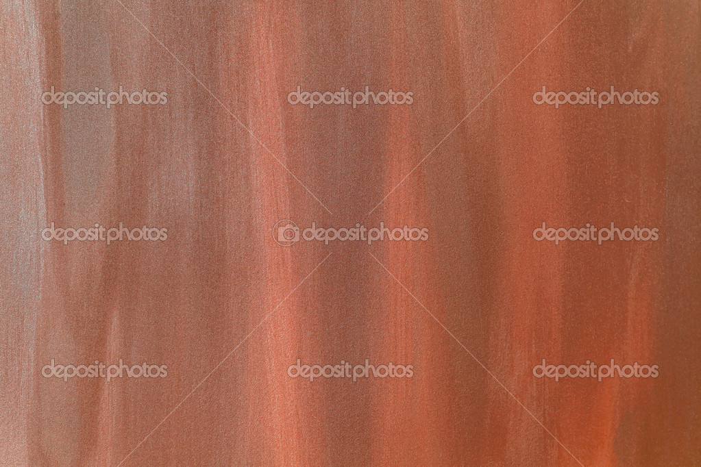 Faux old rust brown painted wall background — Stock Photo #12348207