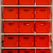 Red boxes — Stock Photo