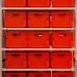 Red boxes — Foto de Stock