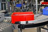 Rollers conveyor — Stock Photo
