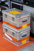 Metal crates — Stock Photo