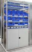 Warehouse storage shelf — Stock Photo