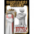 Business Wars Action Figure Dedicated Employee Competitor - Stock Photo