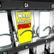 What Makes You Special One Unique Choice Vending Machine - Stock Photo