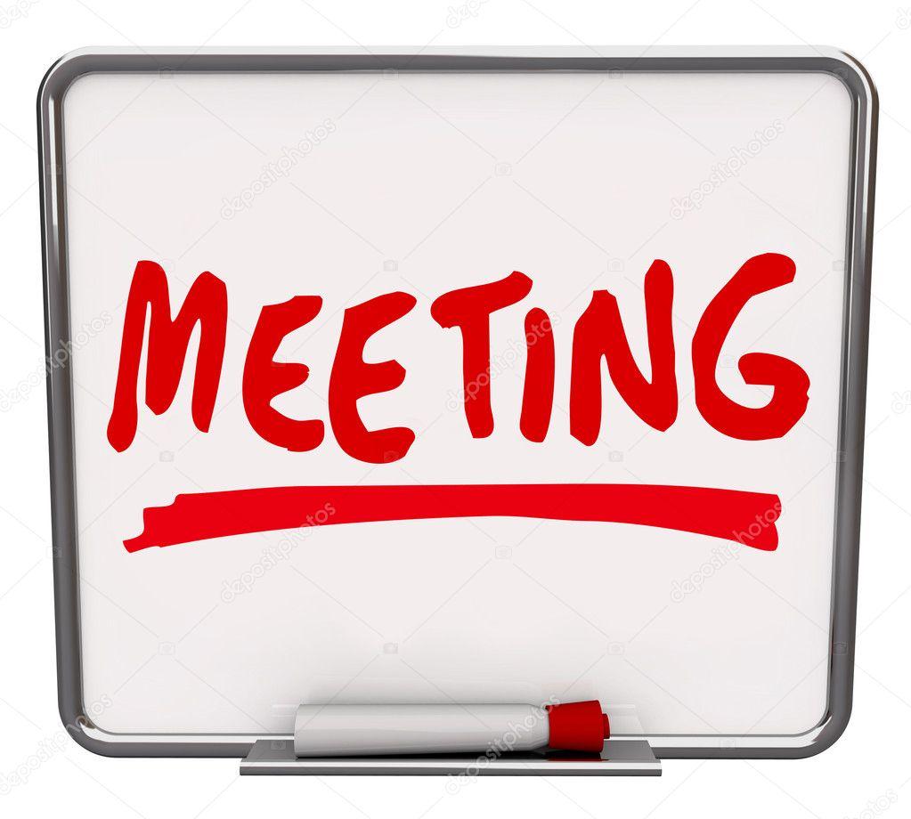 words for meetings