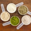 Foto Stock: Superfood supplement powder