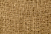 Brown burlap texture — Stock Photo