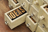 Ideas or brainstorming concept — Stock Photo