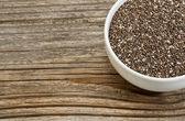 Chia seeds — Stock Photo