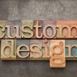 Stock Photo: Custom design