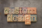 Custom design — Stock Photo