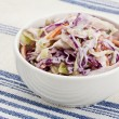 Stock Photo: Coleslaw side dish