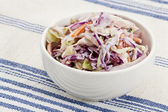 Coleslaw side dish — Stock Photo