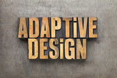 Adaptive design — Stock Photo