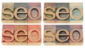 Search engine optimization - seo abstract — Stock Photo