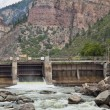 Stock Photo: Shoshonee Dam on Colorado RIver