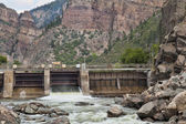 Shoshonee Dam on Colorado RIver — Stock Photo