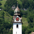 Beautiful church in alpine landscape — Stock Photo #11011835