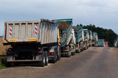 Dump Trucks — Stock Photo