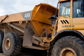Volvo A25D heavy machinery dump truck — Stock Photo