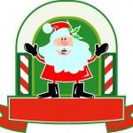 Santa Claus Father Christmas Cartoon — Stock Vector #12327048
