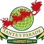 Santa Claus Christmas Globe Reindeer — Stock Vector #12327072