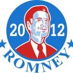 Mitt Romney For American President 2012 — Stock Vector #12382068