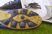 Obuwie piłkarskie — Zdjęcie stockowe
