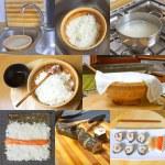 Homemade sushi — Stock Photo #11511474