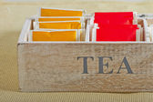 Tea bags — Stock Photo