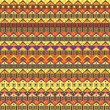 Abstract African Native Seamless Pattern — Stock Vector