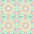 Abstract African Native Seamless Pattern - Imagen vectorial