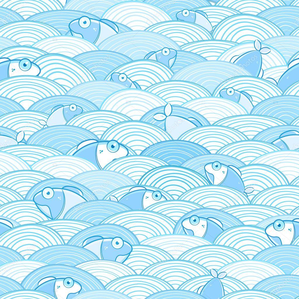 Water Wave Pattern