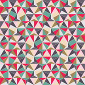 Geometric Triangle Shape Seamless Pattern — Stock Vector