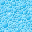 Blue Bubbles Seamless Pattern - Stockvektor