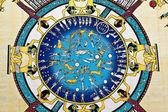 Zodiac auf papyrus — Stockfoto