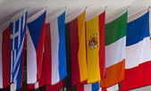 Assorted Flags — Foto de Stock