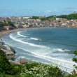 Scarborough seaside resort - Stock Photo