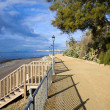 Costa del Sol Promenade — Stock Photo