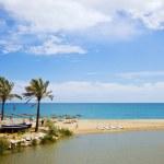 Beach and Sea on Costa del Sol — Stock Photo #11068215