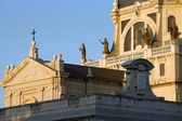 Almudena Cathedral Details in Madrid — Foto Stock