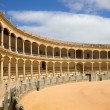 Ronda Bullring in Spain — Stock Photo