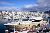 Puerto Banus Marina — Stock Photo